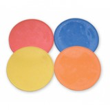 Agility Flat Rubber Markers Set of 6